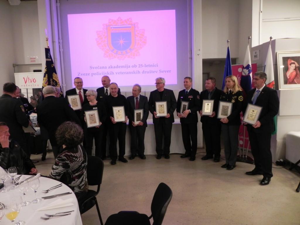Slavnostna akademija ob 25. obletnici delovanja Zveze društev SEVER
