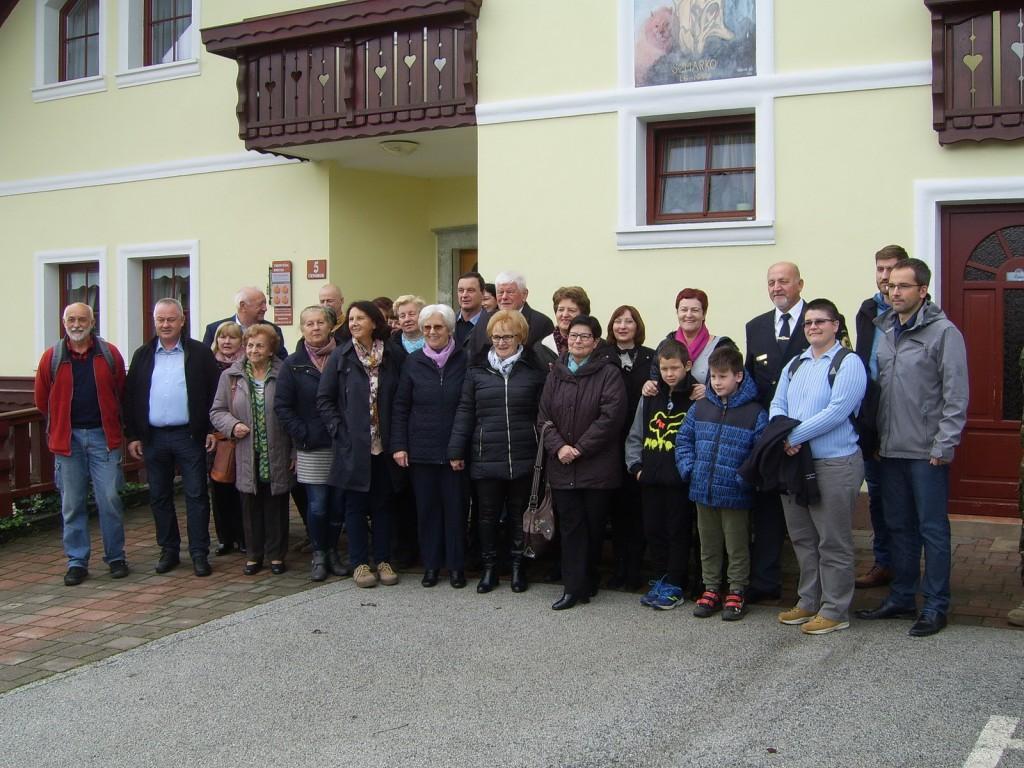 Srečanje s svojci padlih žrtev za Slovenijo