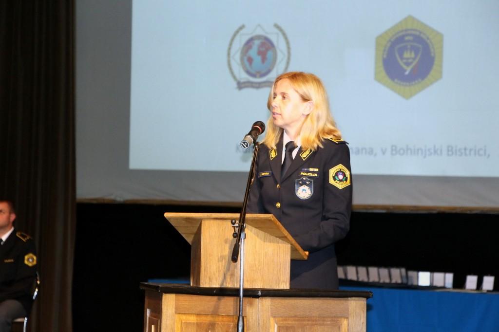 Svečanost v počastitev dneva državnosti, dneva policije, 28. obletnica osamosvojitve Slovenije in 30. obletnica izvedbe akcije SEVER
