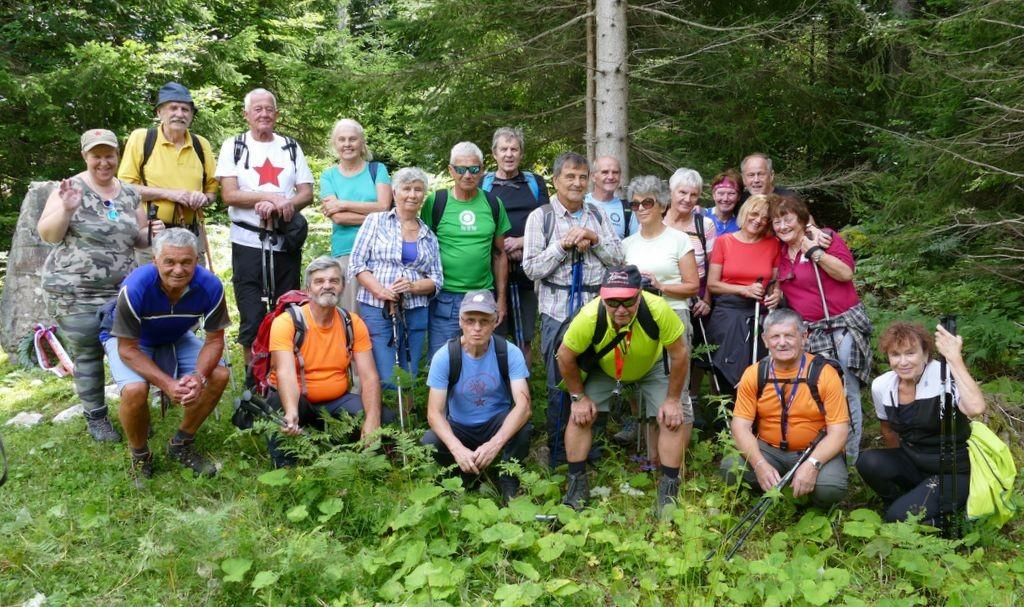 Pohod in slovesnost na Vodiški planini